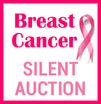 Text, Breast Cancer Silent Auction